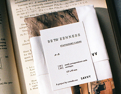 BETWEENNESS STATIONERY