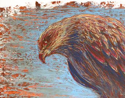 Pastel Hawk