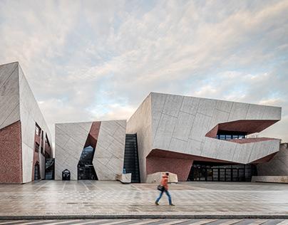 'A rock' - concert hall in Torun by Fernando Menis