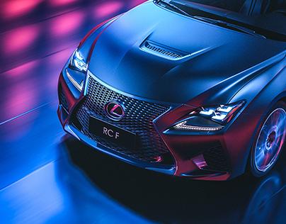 Lexus RC F - CGI & Retouching