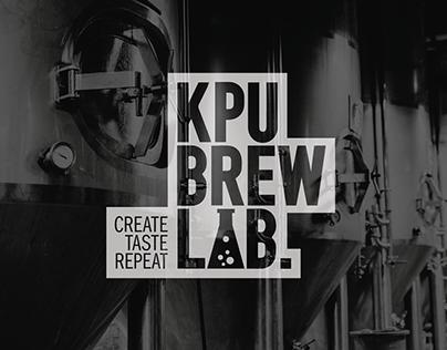 KPU Brew Lab Branding