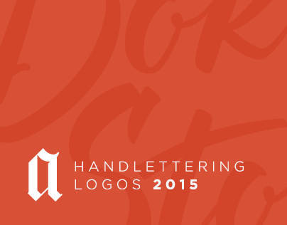 Lettering Logos 2015