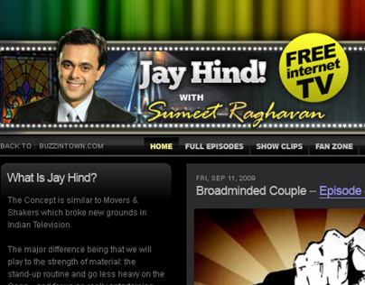 Jay Hind: India's first only for internet Comedy Show