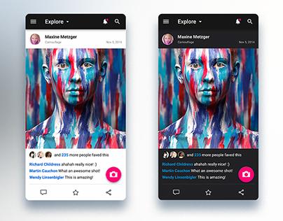 Flickr App Redesign