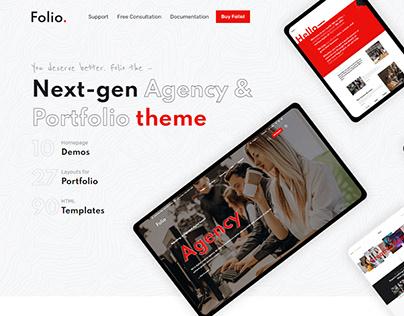 Folio – Agency Portfolio Bootstrap 5 Theme