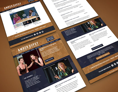 Austin Acting Classes Website Design