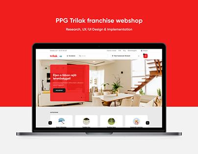 PPG Trilak franchise webshop