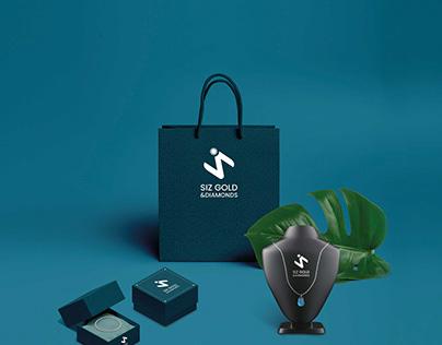 Branding Design for Siz gold and diamonds