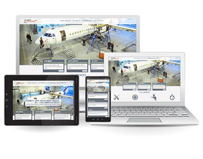 Atlantic Air Industries Maroc - Branding & Website
