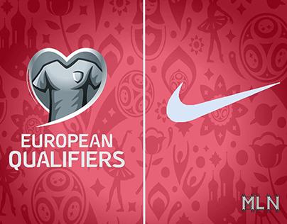 Europeos fuera de Rusia 2018 Nike