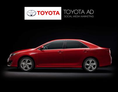 Toyota  - Camry 2012 - Social Marketing Ad .