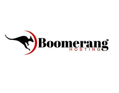 Bomerang Hosting Australia Logo