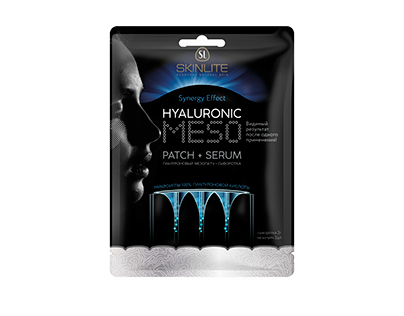 Hyaluronic Meso Patch packaging design