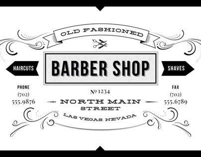 Old Fashioned Barber Shop