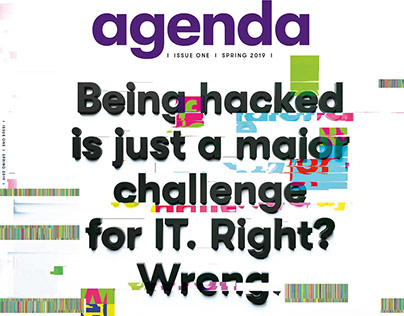 Agenda Spring 2019 - cyber cover feature