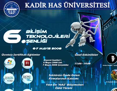 Information Technologies Festival Poster Design
