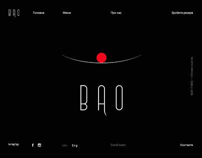 BAO — Modern Chinese Restaurant