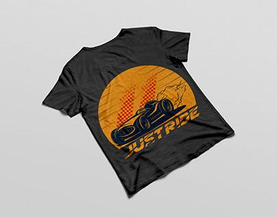 Just ride vector t shirt desig