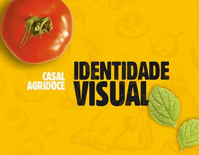 Casal Agridoce - Identidade Visual