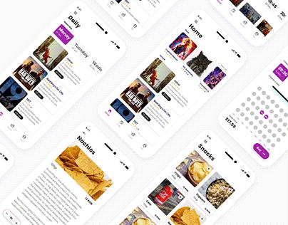 Cinema app | Case Study | Redesign