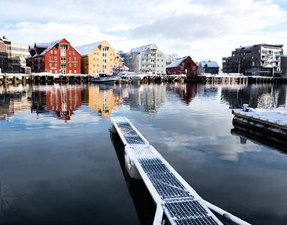 Ski/Voile En Norvège