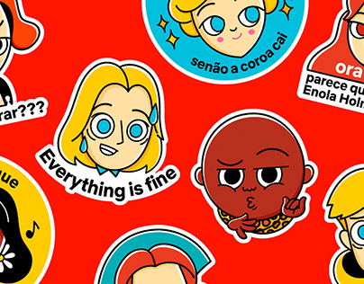 Netflix stickers