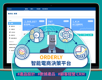 ORDERLY 智能電商決策平台 | Web Product Service