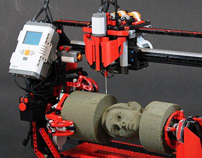 LEGO 360 Milling Machine