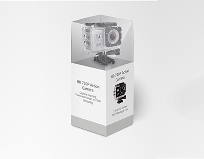 HD 720P ACTION CAMERA | PACKAGING DESIGN