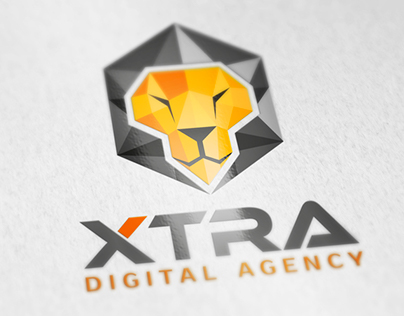 Logo design for XTRA digital agency