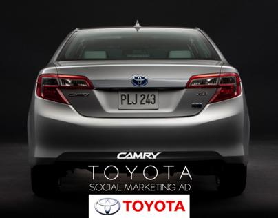 Toyota - Camry 2012 - International Model - Social Ad