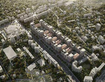 """Premium Residential Complex """"MIRABAD AVENUE"""""""