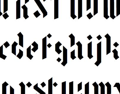 Character-Based Latin Font Design