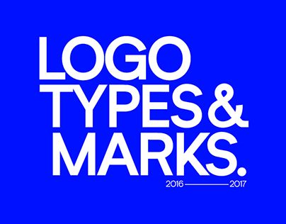Logotypes & Marks Collection 2016-17