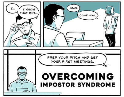 Overcoming impostor syndrome - a short comic