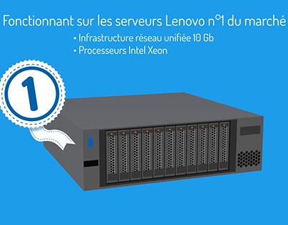 Solution d'hyper-convergence Lenovo - Simplivity