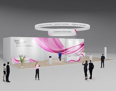 Trade Show Booth / Displays Mock-Ups Vol.4