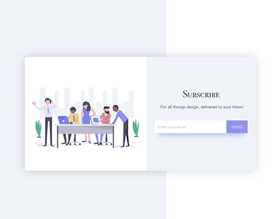 Daily UI 026 / Subscribe