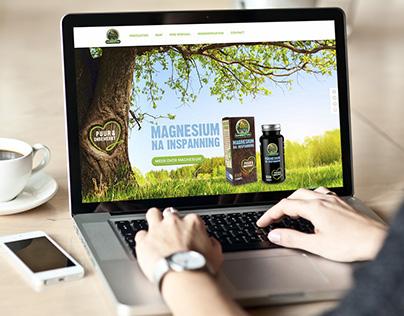 Garden of Life responsive website