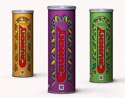 Crunchy Crisps - Logo & Packaging Design