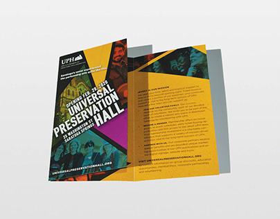 Universal Preservation Hall Saratoga Grand Opening Art