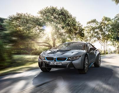 BMW i8, personal project CGI