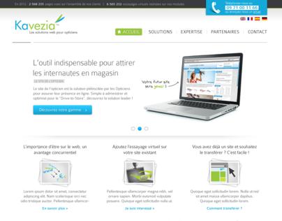 Optisso website