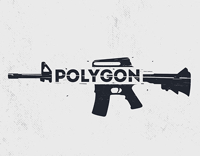Logo for for shooting club Polygon