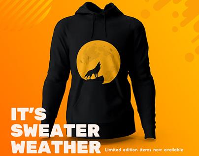 Social Media Post | Wolf Design Hoody