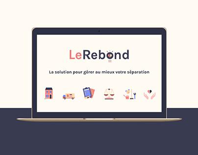 LeRebond - Branding & website