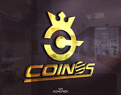 COİNES Şirket Logosu Çalışması