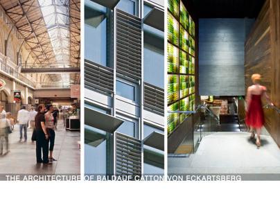 BCV Architects | Portfolio Book Collection