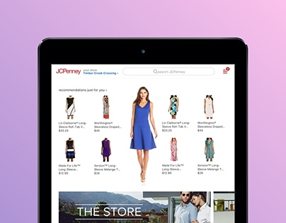 JCPenney Home Redesign Concept
