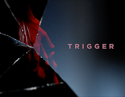 TRIGGER main title sequence